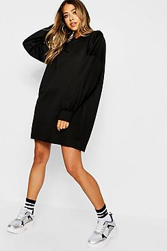 Se  The Perfect Oversized Sweater Dress ved Boohoo.com
