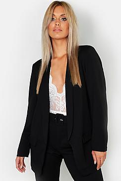 Plus Tailored Blazer