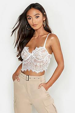 Premium Lace Cupped Bralet