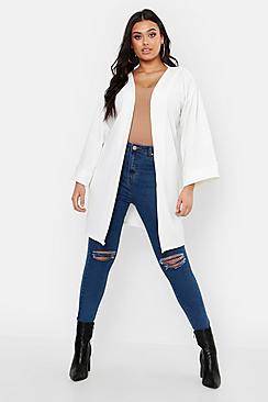 Plus Kimono Sleeve Duster