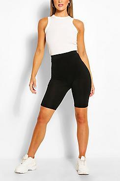Basic Solid Cycling Shorts