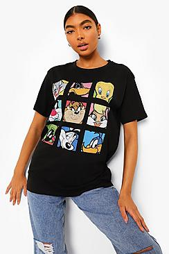 Tall Looney Tunes License T-shirt