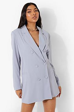 Tall Oversized Tailored Blazer Dress