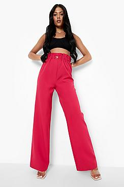 Tall Woven Paperbag Trouser